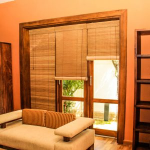 Bamboo- blinds