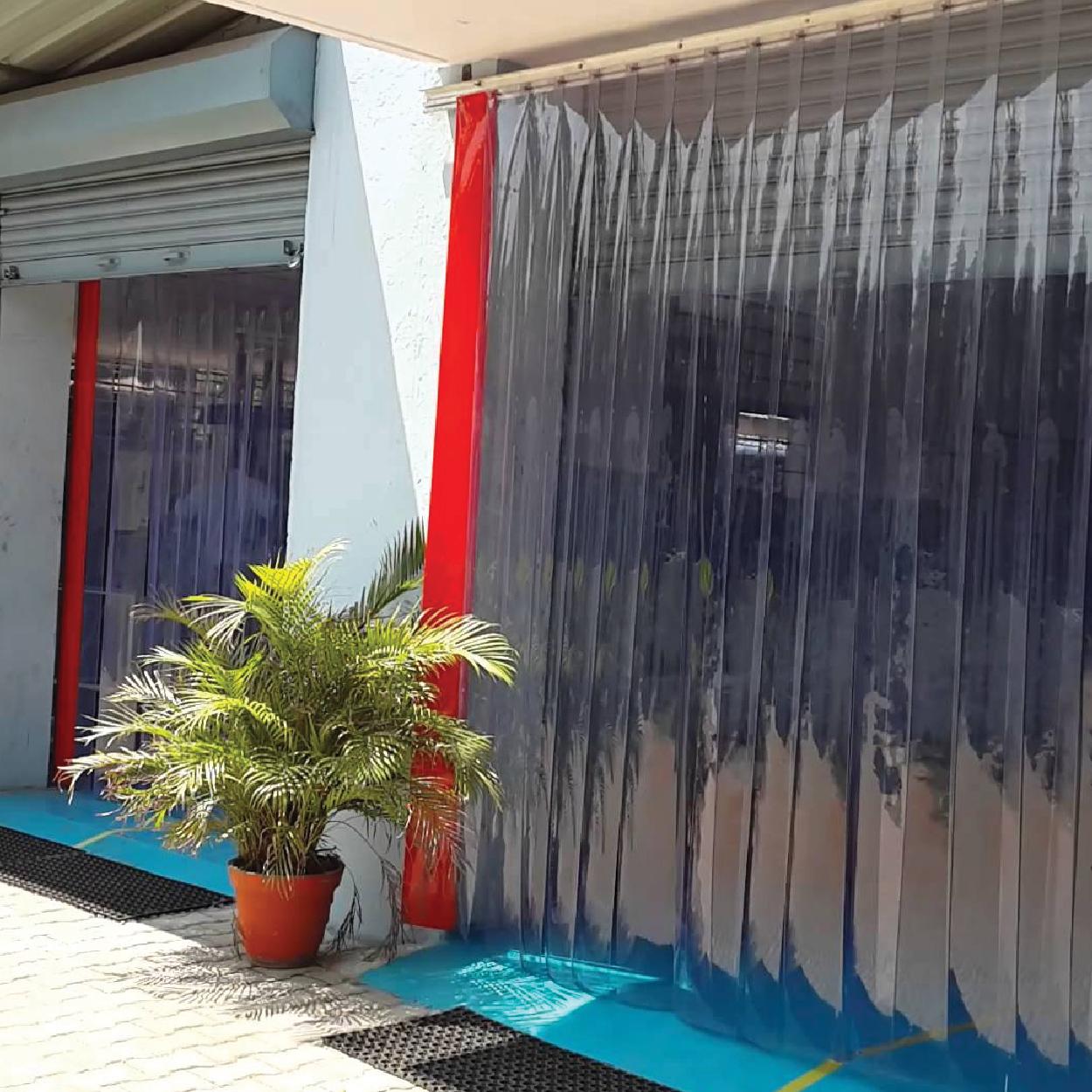 door soper curtains pvc clearflex strip s curtain doors benefits