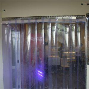 PVC Strip Curtains - Techguard